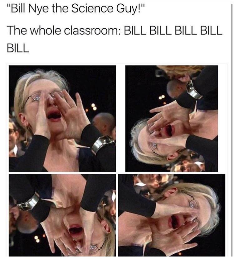 bill nye your moms a guy - meme