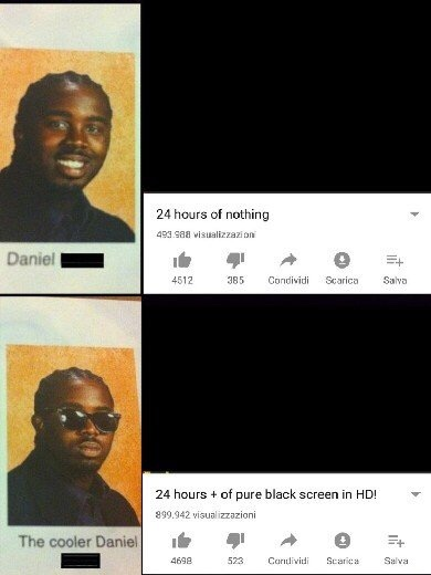 Another layer of black - meme