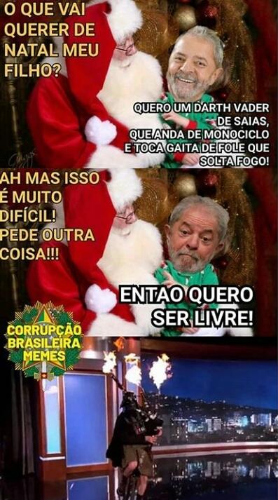 Ninguém solta Lula de ninguém - meme