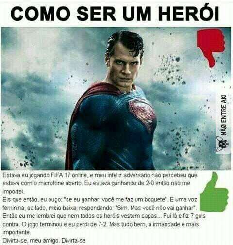 Q heroi mermo - meme