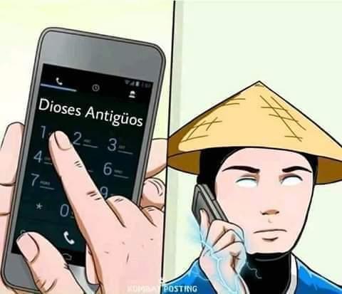 Cuando tienes problemas - meme