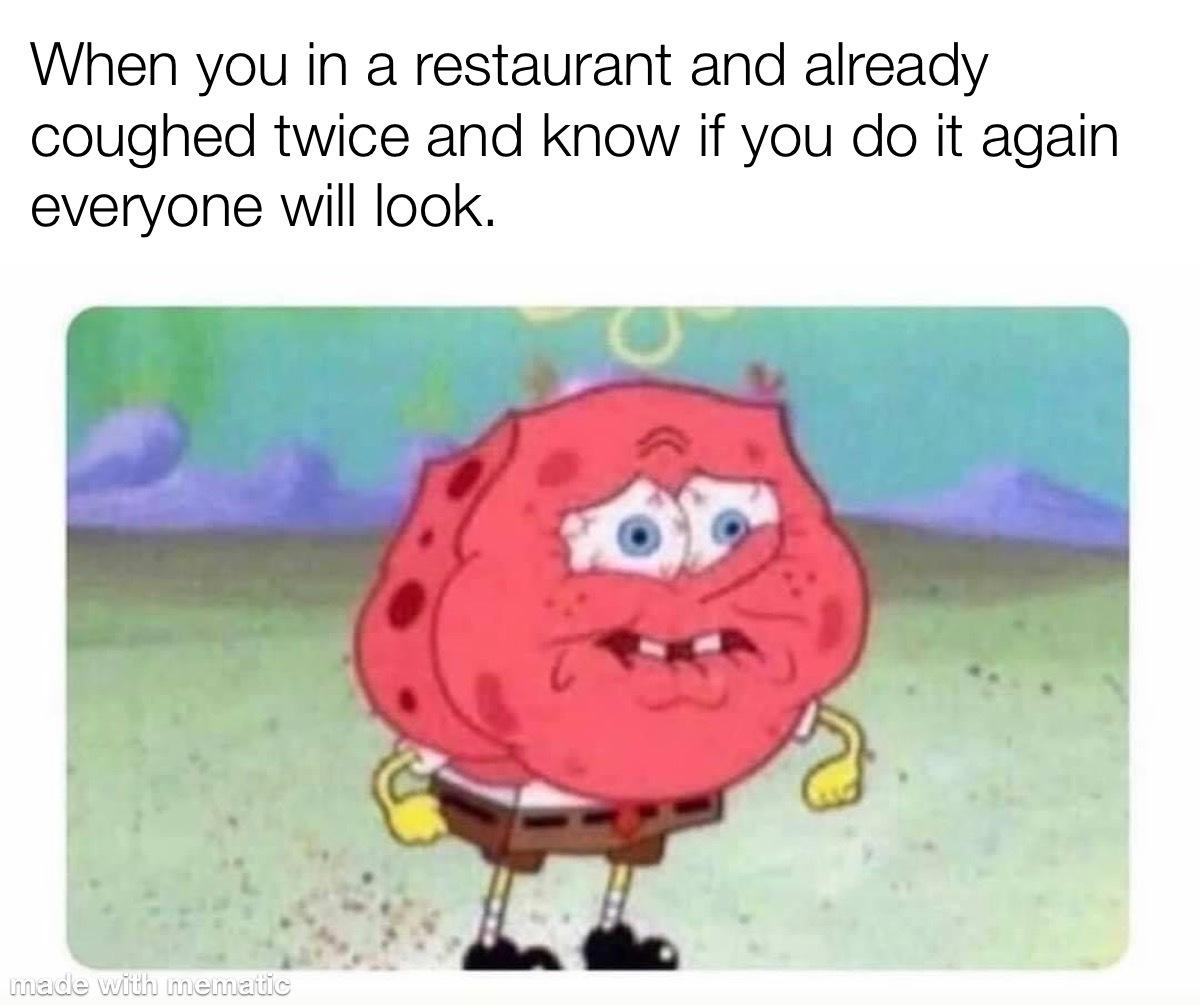 Public coughs - meme