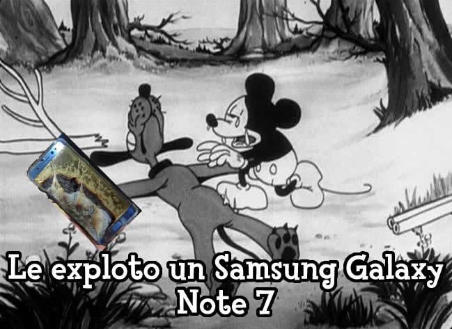 Quien no recuerda las explosiones del Samsung Galaxy Note 7? - PD: Que suerte que ya no hay ningun Samsung Galaxy Note 7 funcionando en 2020 - meme
