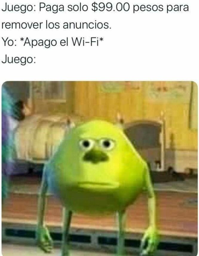 Sin wifi - meme