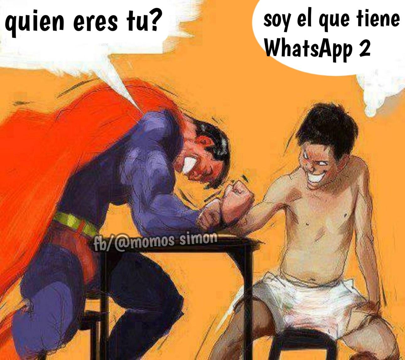 Tiene WhatsApp 2 - meme