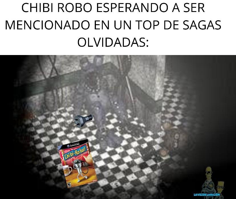 Ni siquiera Nintendo recuerda a Chibi-Robo - meme