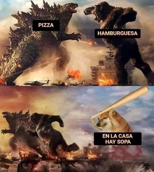 La sopa ÉPICO - meme