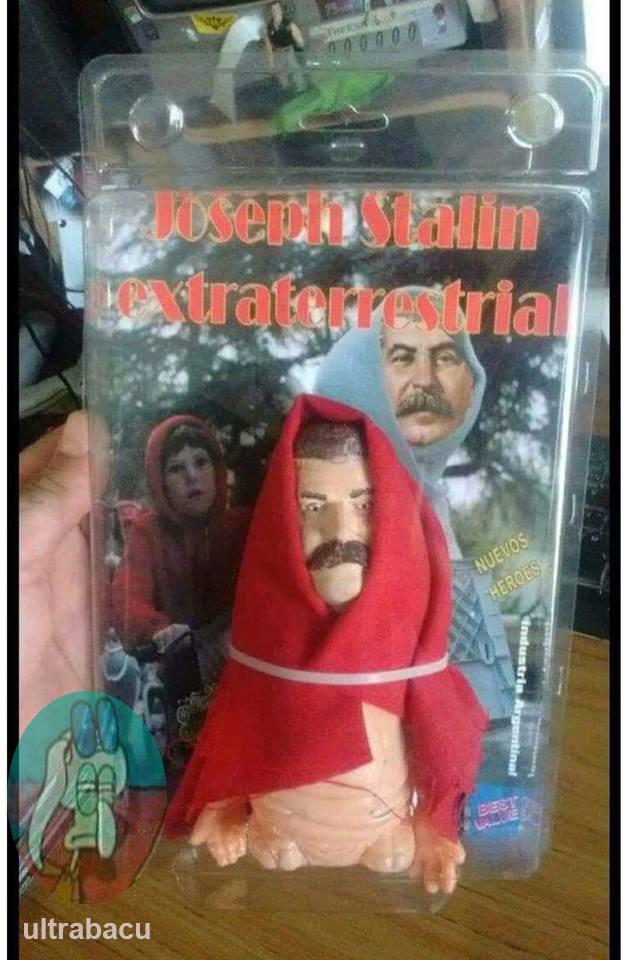 José Stalinho, o Alienígena - meme