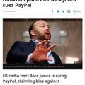 """PayPal loves gay frogs"" - Alex Jones"
