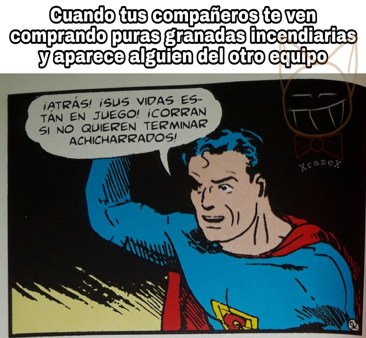 Este superman - meme