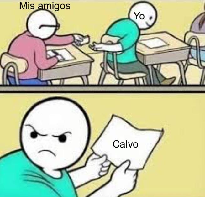 Calvo - meme