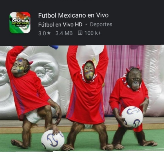 Futbol mejicano - meme