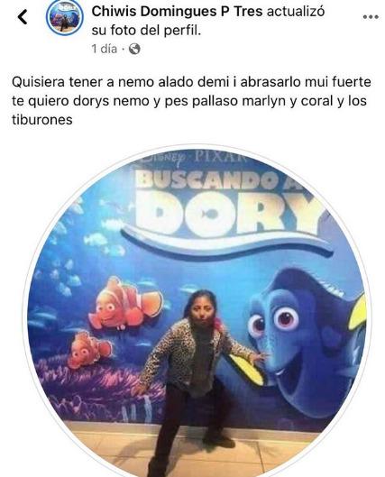 Le faltó decir que es fan de Nemo ctm - meme