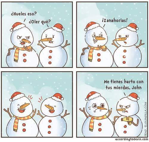 La navidad y el odio - meme