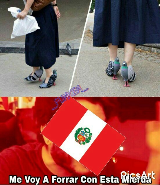 Stos peruanos - meme