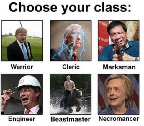 Be wise, you can only choose one - meme