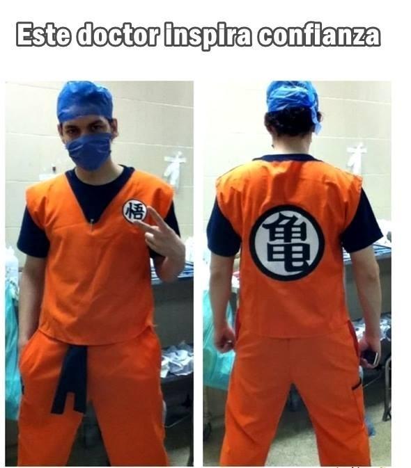 Con ese doctor no hace falta anestesia - meme