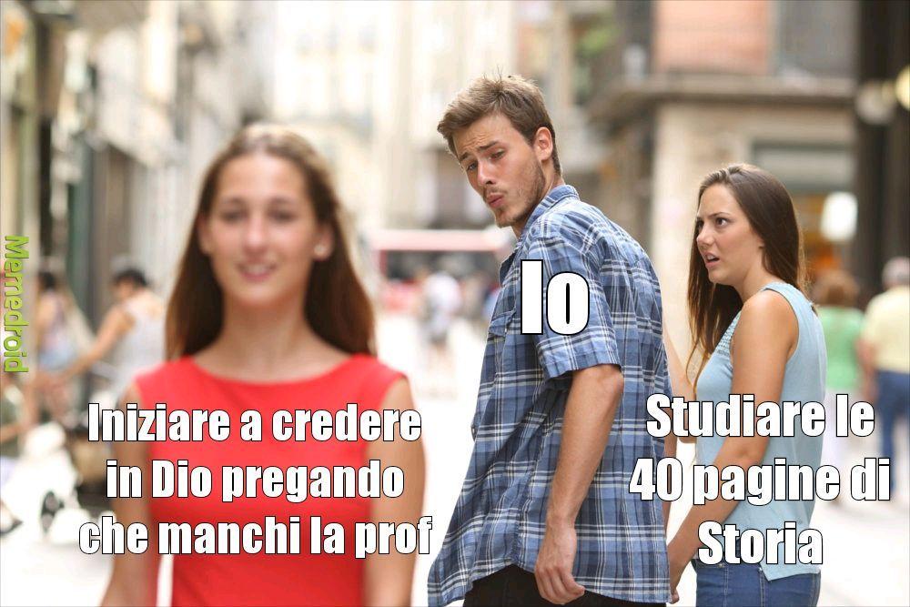 Studiare è brutto! - meme