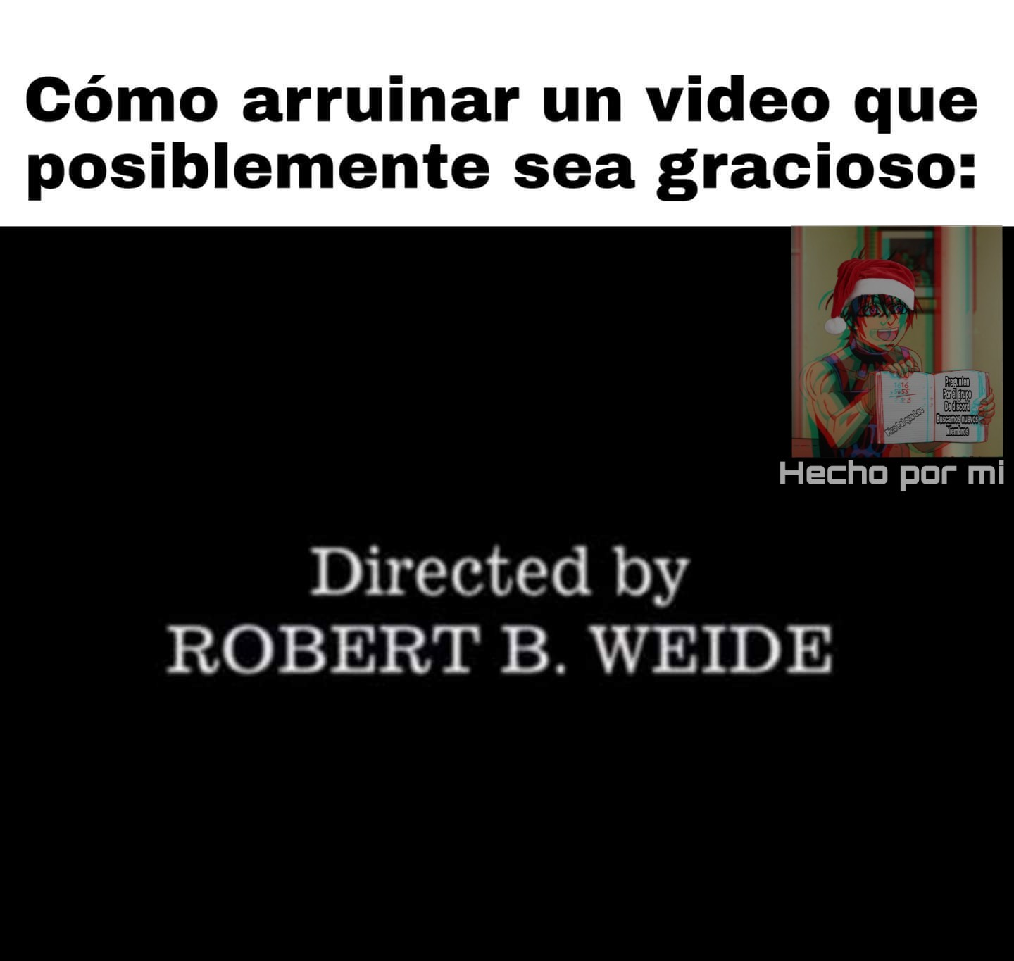 Odio esos videos - meme