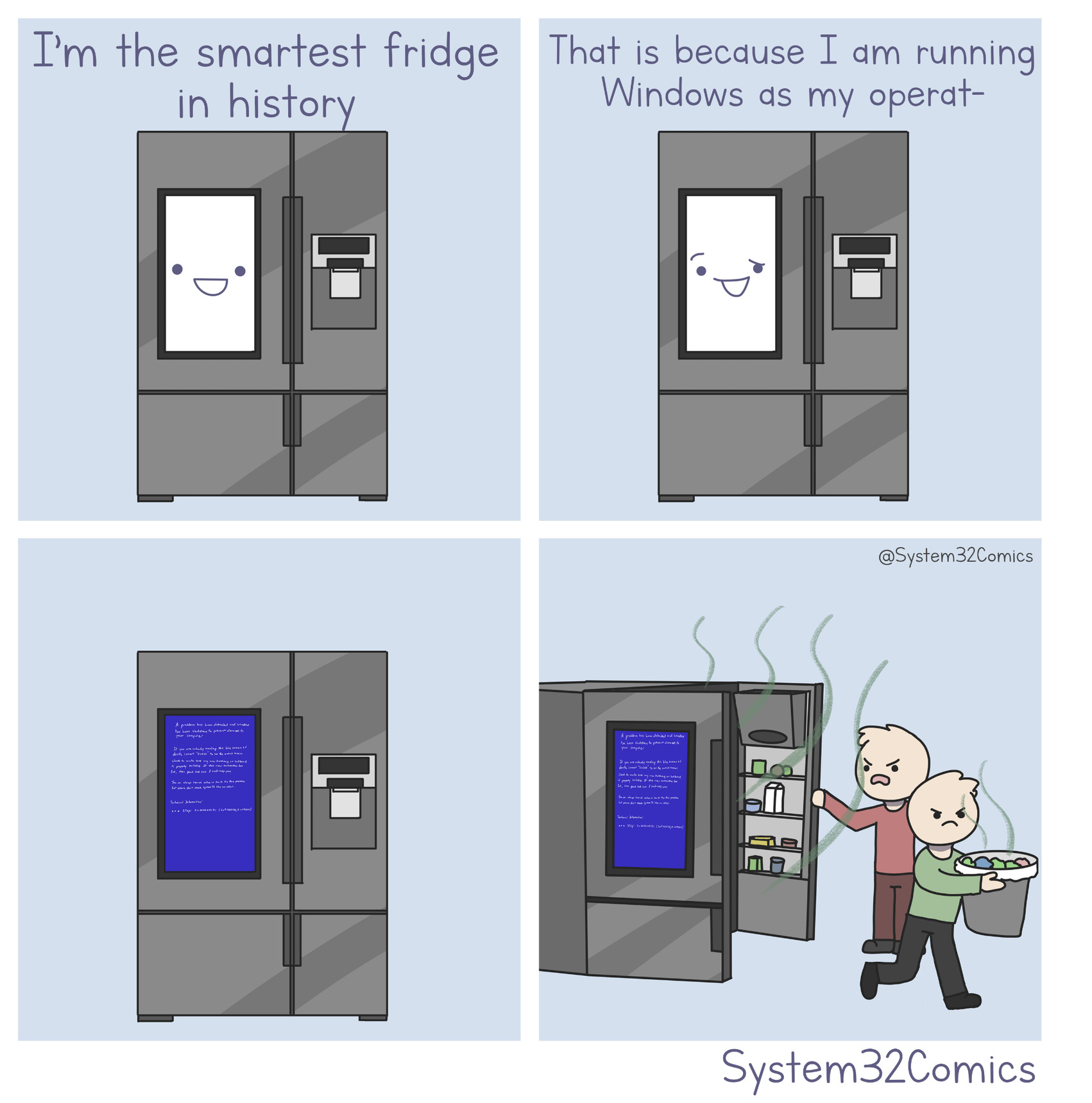 Smart Fridge [OC] - meme