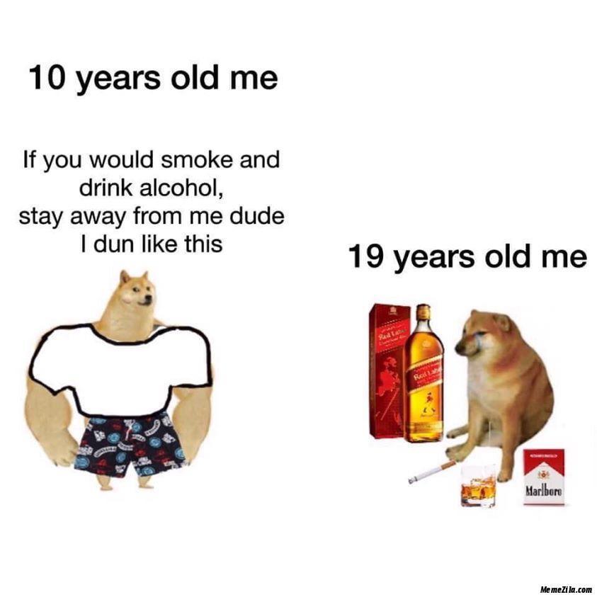 Don't Smoke Kids Smoking Is Bad - meme