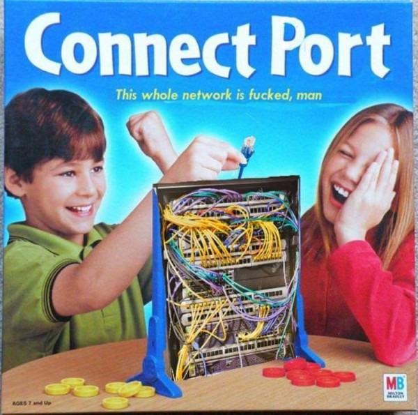 connect 4 - meme