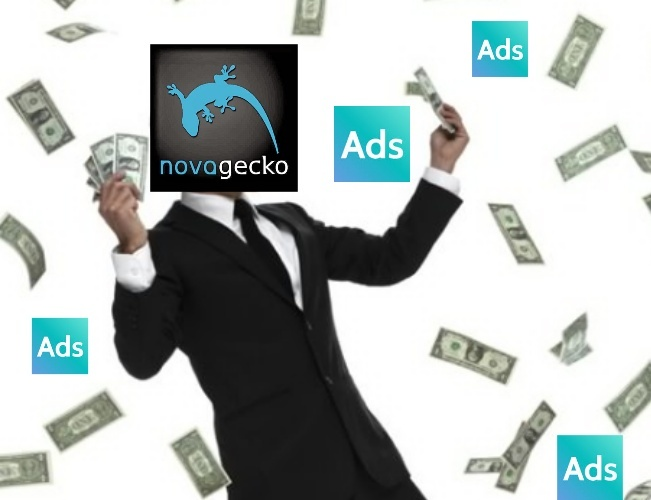 Anybody else disappointed in Novagecko for the push ads? - meme