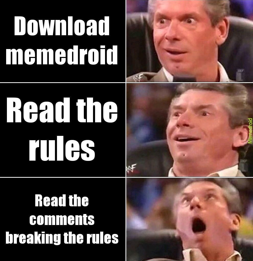 Am I the only one who read them? - meme