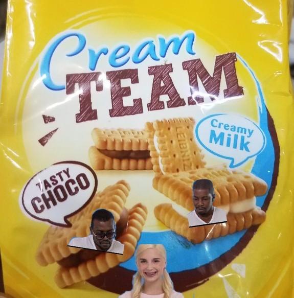 Cream team - meme