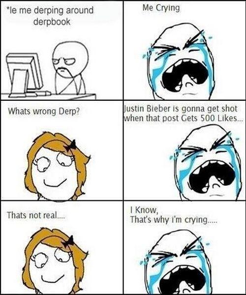 poor Bieber - meme