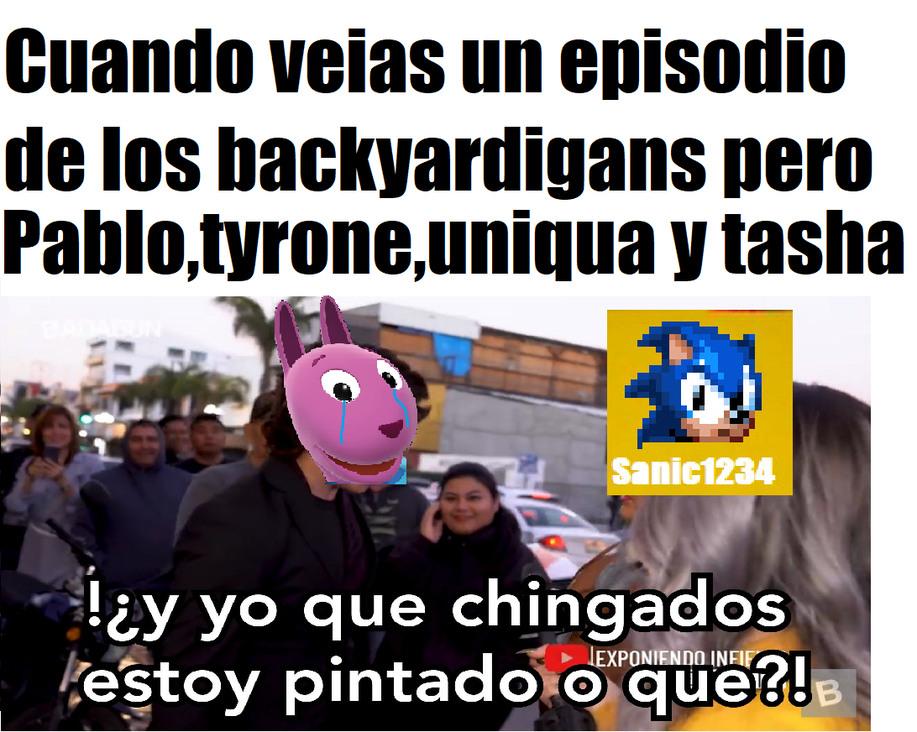 Como por ejemplo el episodio Entrega Especial - meme