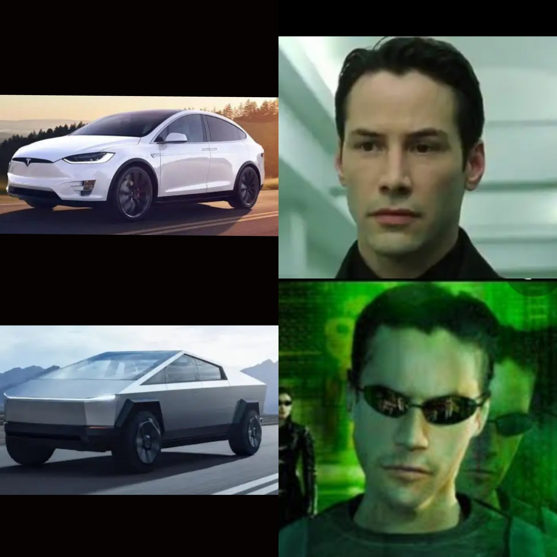 Tesla evolution - meme
