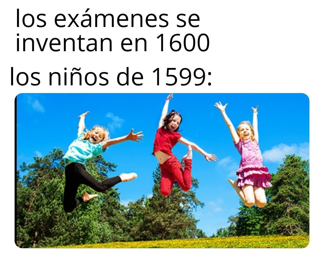 Putos examenes - meme