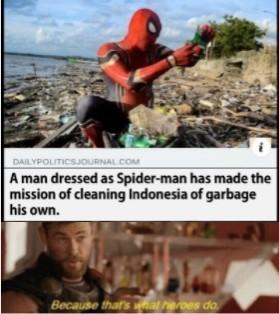 My hero - meme