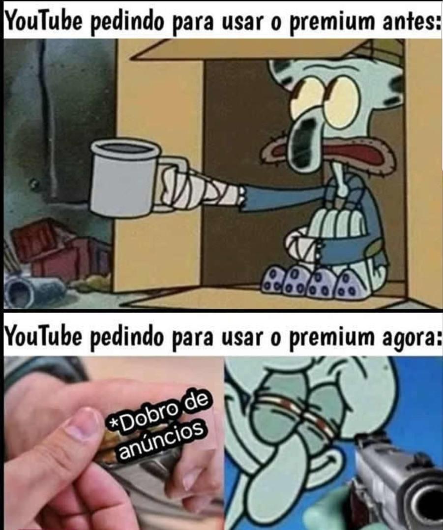 YouTube Premium - meme