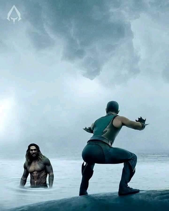 Abro debate, quién gana? Y porqué Aquaman?!!! - meme