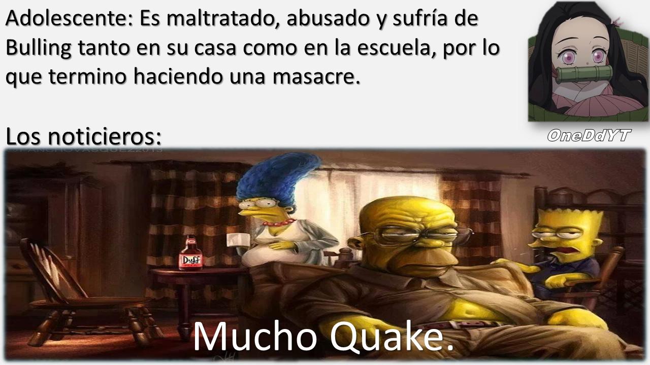 Mucho Quake. - meme