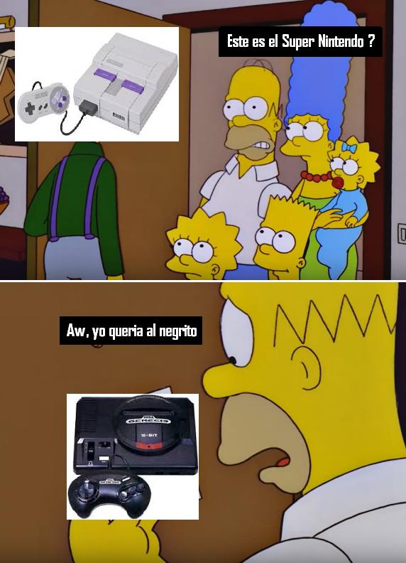 Yo solo quria un genesis - meme