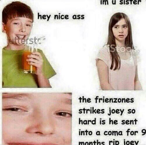Damn joey - meme