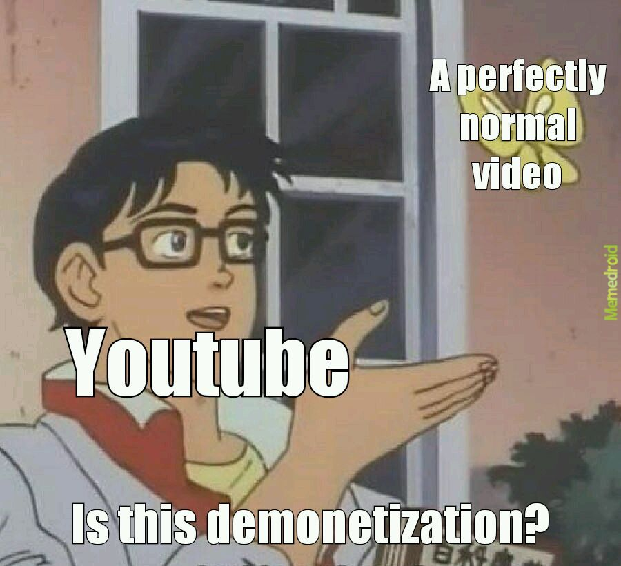 Youtube today - meme
