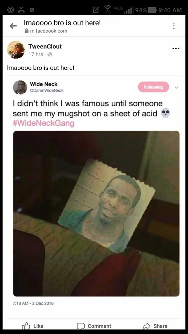 Wide Neck nigga - meme