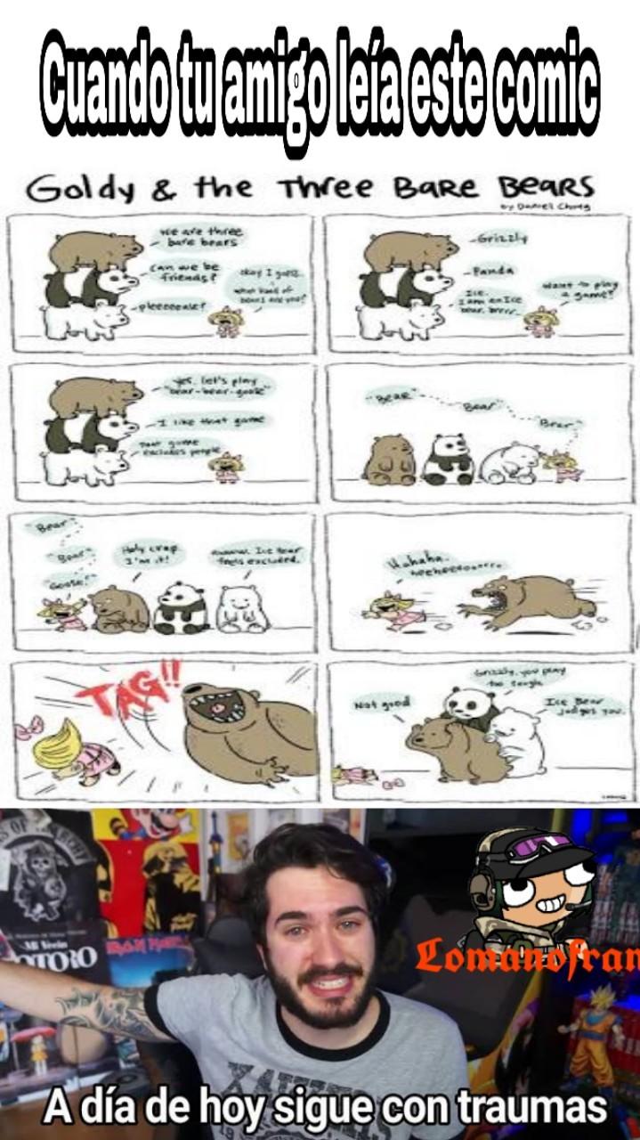 Perdonen si el comic está en inglés :( - meme