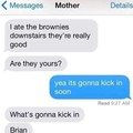 Poor mom didn't suspect a thing