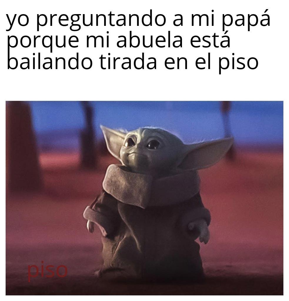 Meme genérico de baby Yoda