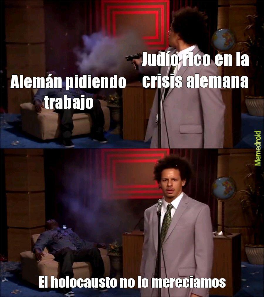 Malditos judios - meme