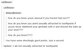 Asexual or not this should make you laugh. I'll probably get negative feedback for posting this but hey ITS FUNNY - meme