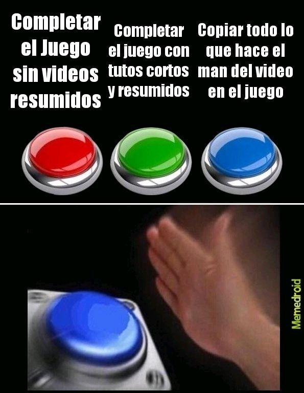 when juegos rpg - meme