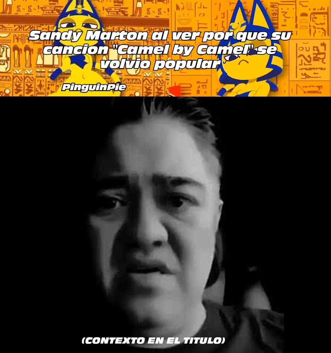 CONTEXTO: Esa cancion se utilizo para un video porno de Ankha (una personaje de Animal crossing) culeando con el alcalde - meme