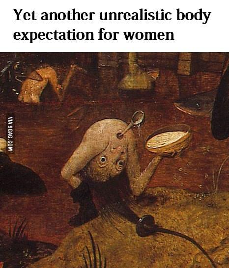 Unrealistic expectations - meme