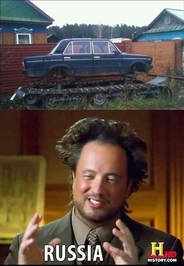 Russes - meme